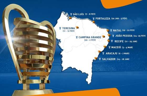 Tour da Taça Copa do Nordeste